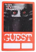 Alice Cooper 'The Eyes of Alice Cooper Tour 2003/04' OTTO Backstage Pass
